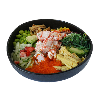 Foto Crab poke bowl